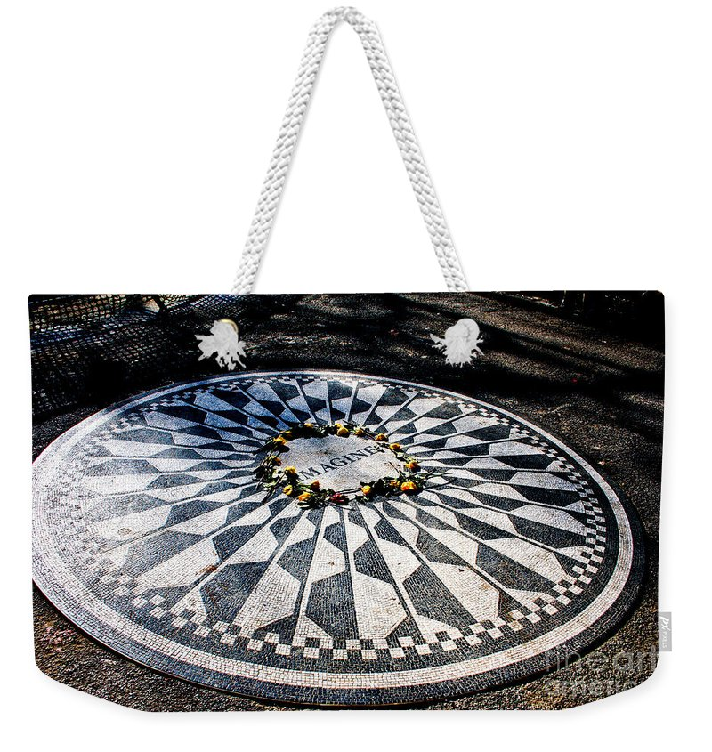 Imagine Weekender Tote Bag featuring the photograph Imagine by Thomas Marchessault