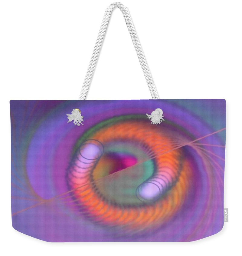 Digital Art Weekender Tote Bag featuring the digital art Img 0002 by Ralph Root