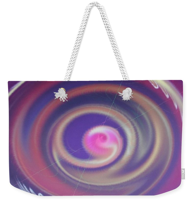Digital Art Weekender Tote Bag featuring the digital art Img 0007 by Ralph Root