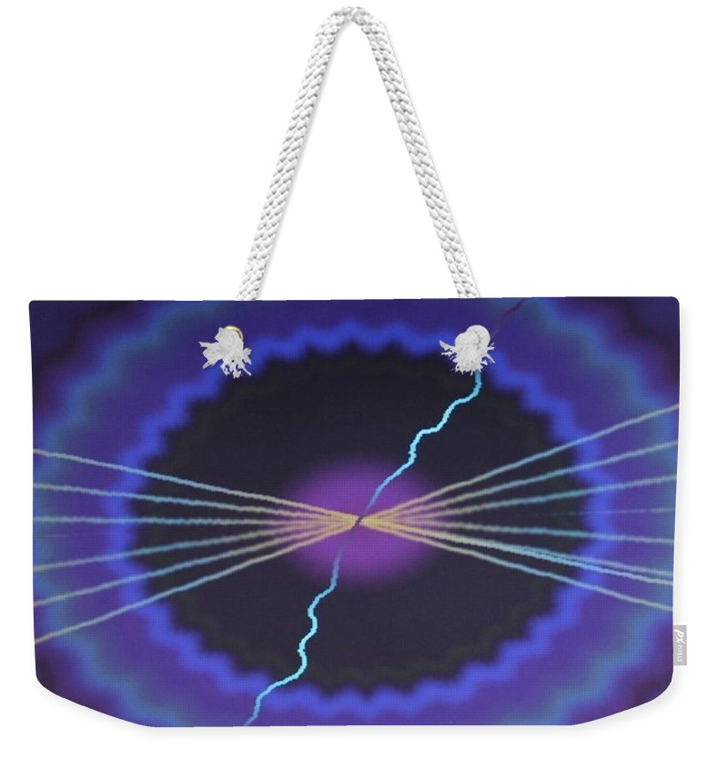 Digital Art Weekender Tote Bag featuring the digital art Img0010 by Ralph Root