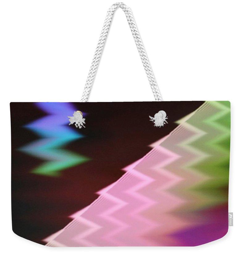 Digital Art Weekender Tote Bag featuring the digital art Img0020 by Ralph Root