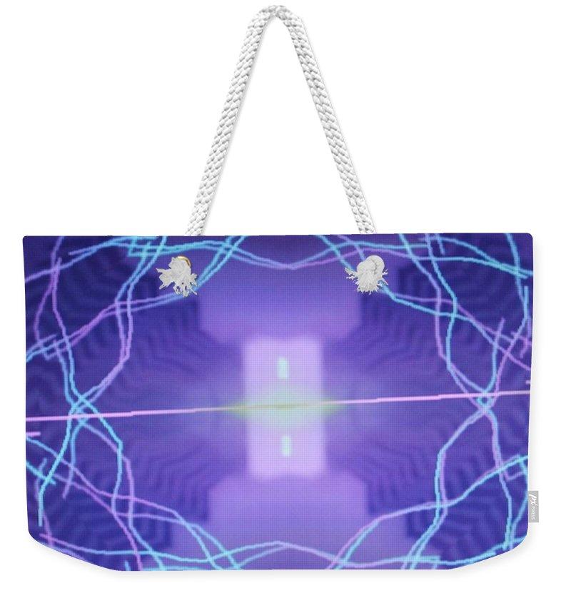 Digital Art Weekender Tote Bag featuring the digital art Img0029 by Ralph Root