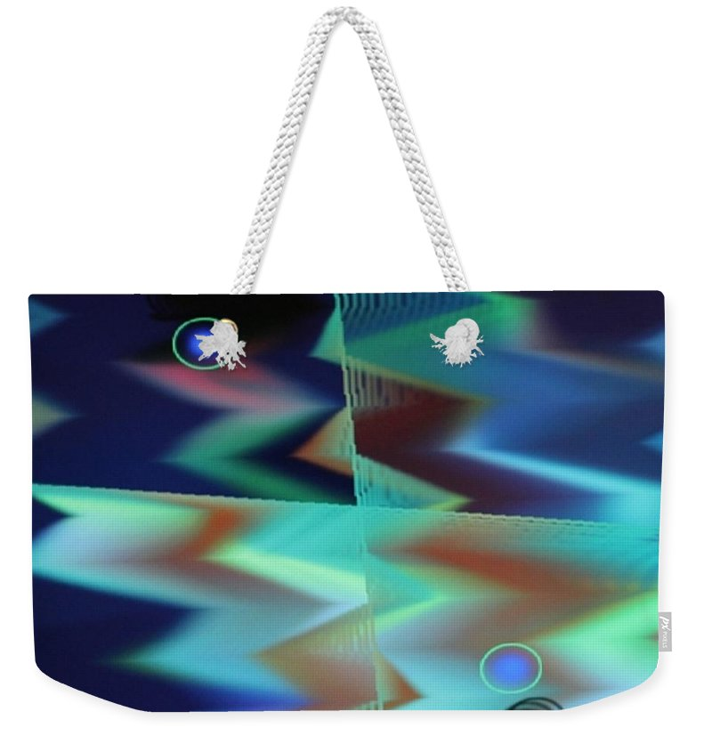 Digital Art Weekender Tote Bag featuring the digital art Img0050 by Ralph Root