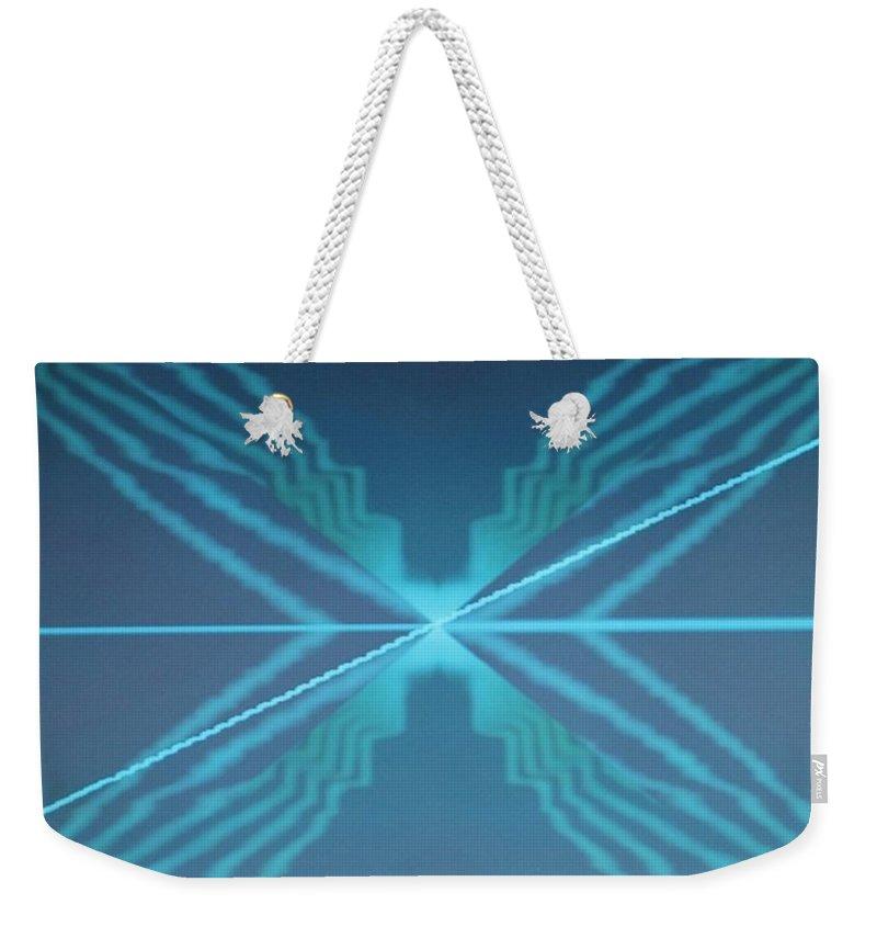 Digital Art Weekender Tote Bag featuring the digital art Img0080 by Ralph Root