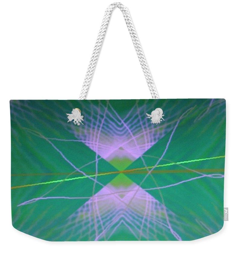 Digital Art Weekender Tote Bag featuring the digital art Img0082 by Ralph Root