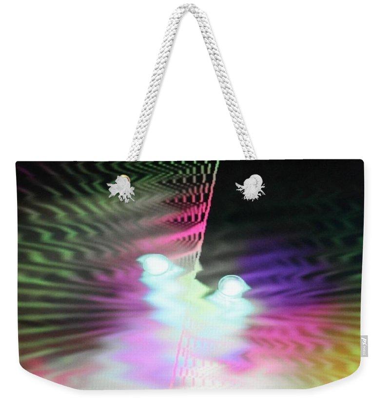 Digital Art Weekender Tote Bag featuring the digital art Img0092 by Ralph Root