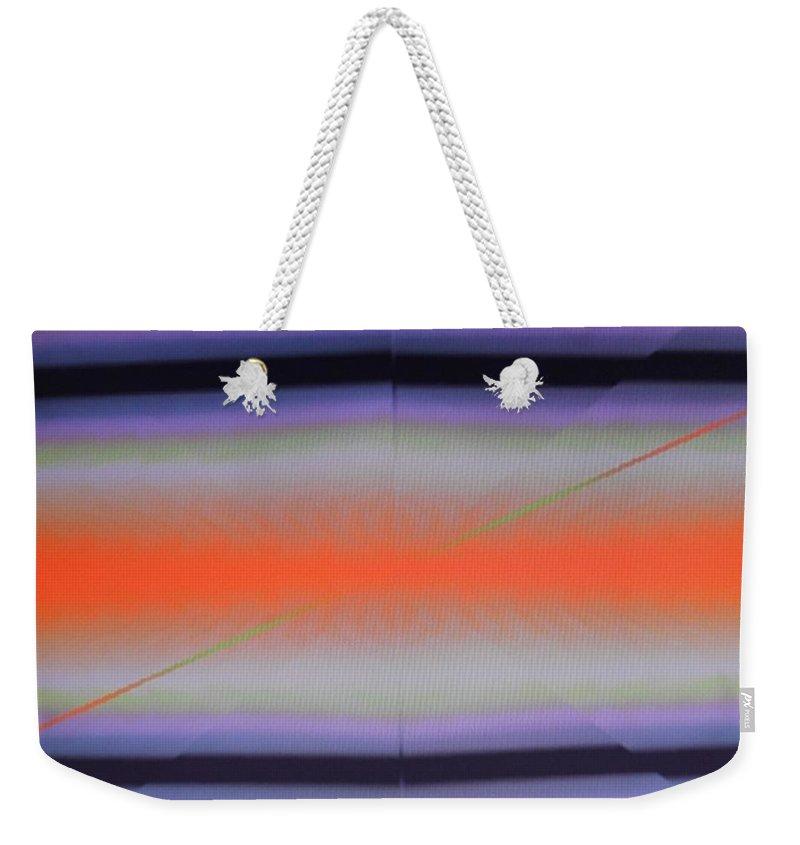Digital Art Weekender Tote Bag featuring the digital art Img0106 by Ralph Root