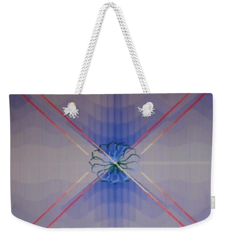 Digital Art Weekender Tote Bag featuring the digital art Img0114 by Ralph Root