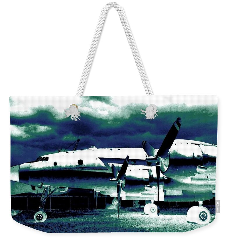 Impressions Weekender Tote Bag featuring the digital art Impressions 7 by Will Borden