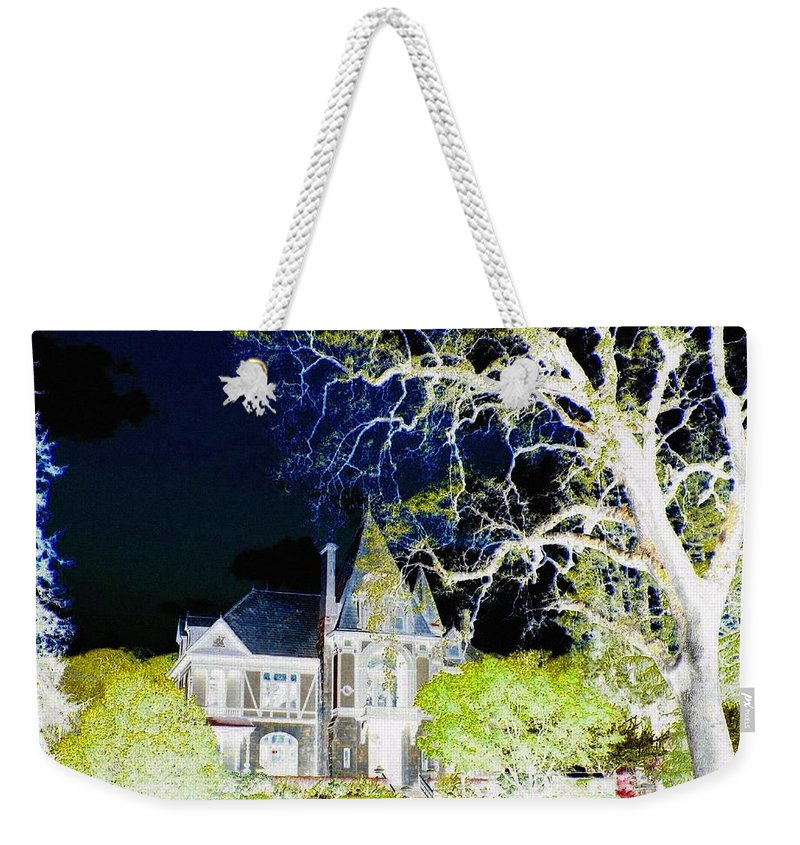 Impressions Weekender Tote Bag featuring the digital art Impressions 9 by Will Borden