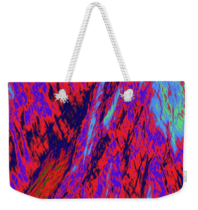 Forest Weekender Tote Bag featuring the photograph Impressions Of A Burning Forest 16 by Gary Bartoloni