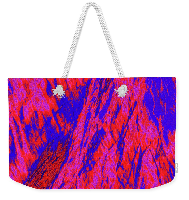 Forest Weekender Tote Bag featuring the photograph Impressions Of A Burning Forest 20 by Gary Bartoloni