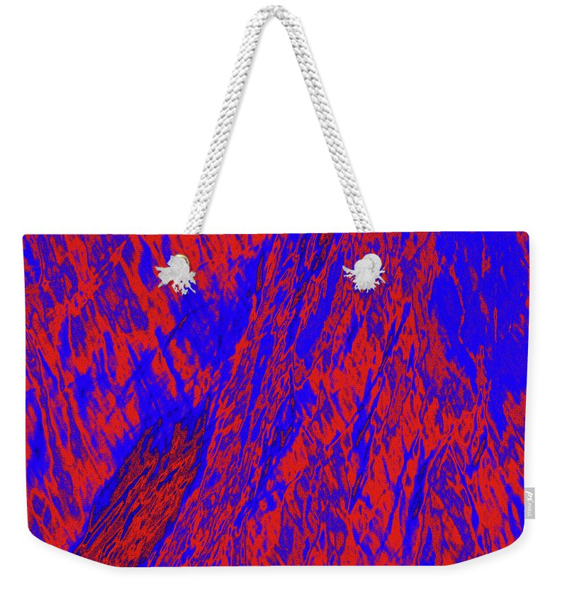 Forest Weekender Tote Bag featuring the photograph Impressions Of A Burning Forest 21 by Gary Bartoloni