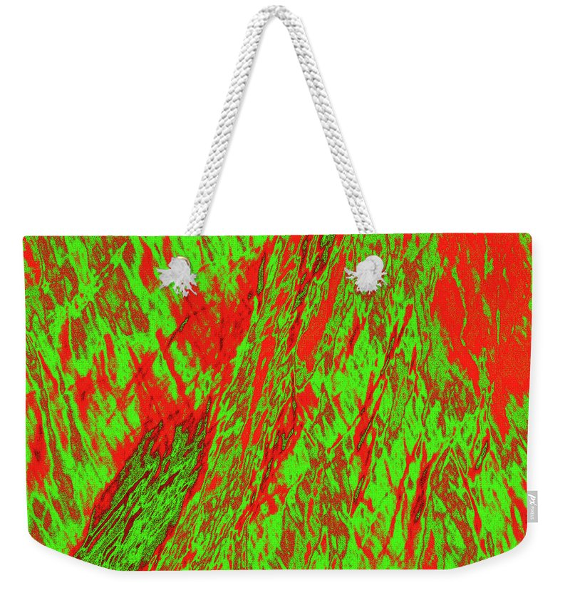 Forest Weekender Tote Bag featuring the photograph Impressions Of A Burning Forest 22 by Gary Bartoloni