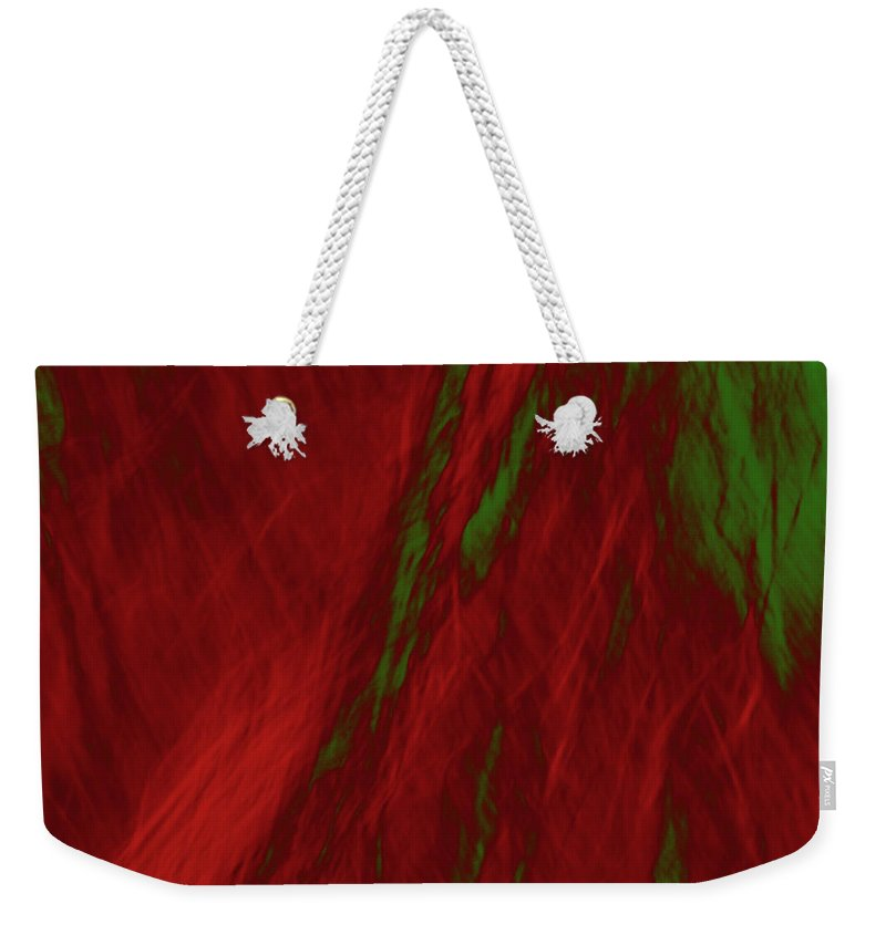 Forest Weekender Tote Bag featuring the photograph Impressions Of A Burning Forest 3 by Gary Bartoloni