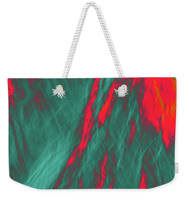Forest Weekender Tote Bag featuring the photograph Impressions Of A Burning Forest 4 by Gary Bartoloni