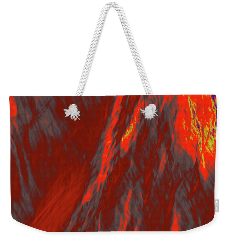 Forest Weekender Tote Bag featuring the photograph Impressions Of A Burning Forest 6 by Gary Bartoloni