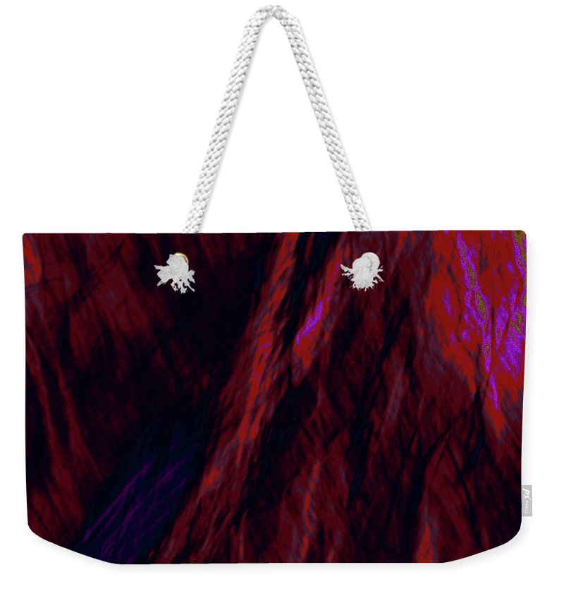 Forest Weekender Tote Bag featuring the photograph Impressions Of A Burning Forest 8 by Gary Bartoloni