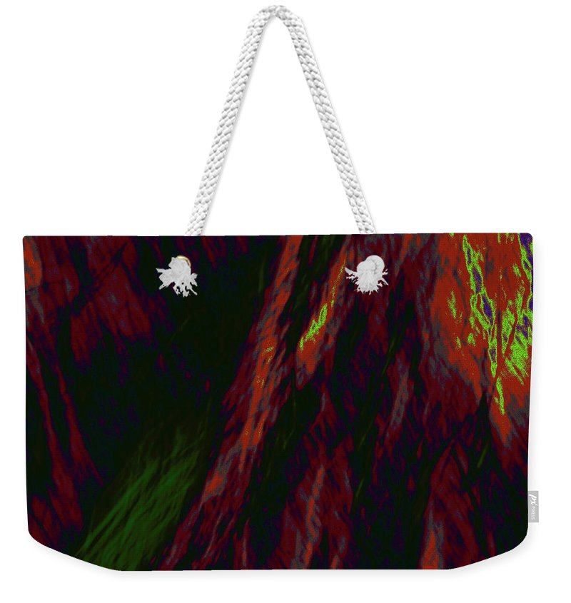Forest Weekender Tote Bag featuring the photograph Impressions Of A Burning Forest 9 by Gary Bartoloni
