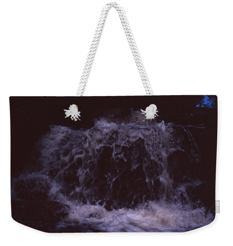 Bahia Weekender Tote Bag featuring the photograph In A Bahian Waterfall by Patrick Klauss