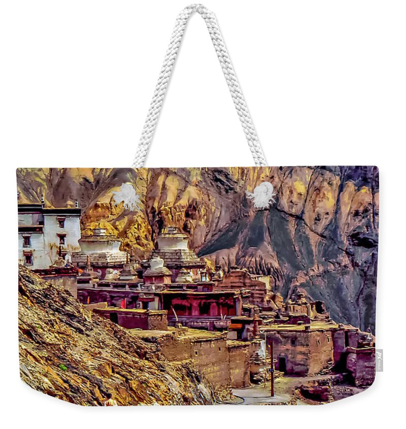 Ladakh Weekender Tote Bag featuring the photograph In A Far Land by Steve Harrington