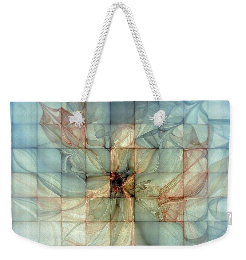 Digital Art Weekender Tote Bag featuring the digital art In Dreams by Amanda Moore