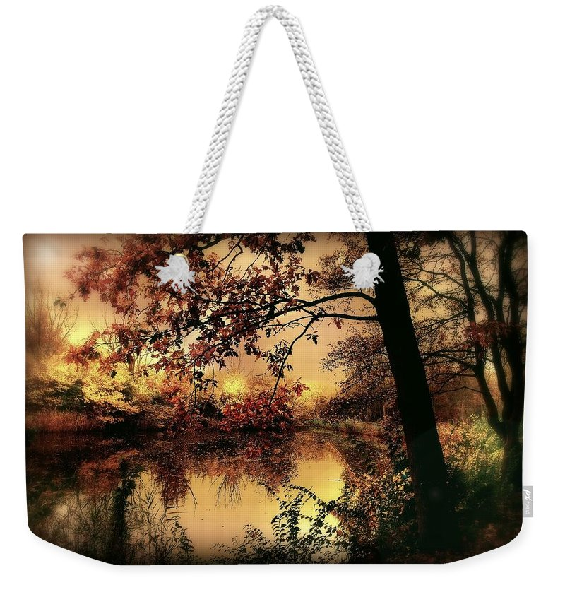 Autumn Weekender Tote Bag featuring the photograph In Dreams by Jacky Gerritsen