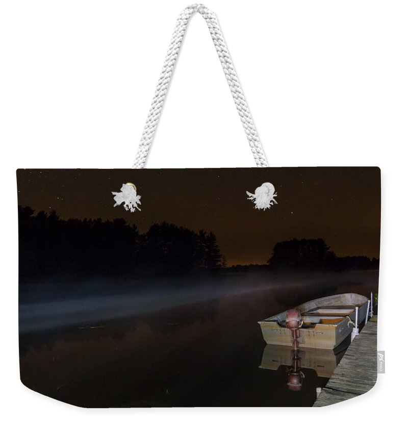 Night Weekender Tote Bag featuring the photograph In For The Night by Kevin Buffington