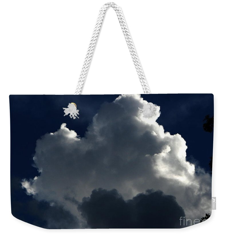 Patzer Weekender Tote Bag featuring the photograph In Light Of Things by Greg Patzer