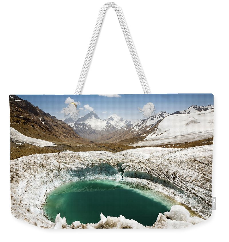 Art Weekender Tote Bag featuring the photograph In The Depth Of Pamir by Konstantin Dikovsky