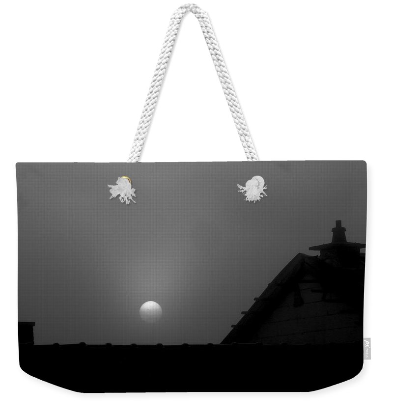 Moon Weekender Tote Bag featuring the photograph In The Middel Of The Night by Elisabeth Derichs
