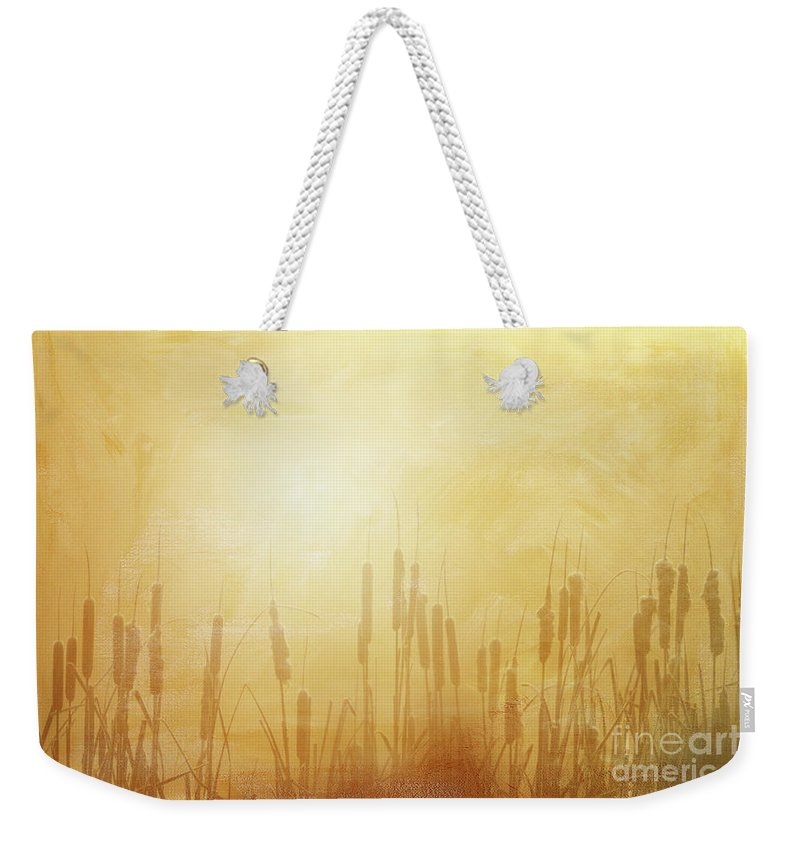 Marsh Weekender Tote Bag featuring the photograph In The Mist - II by Beve Brown-Clark Photography