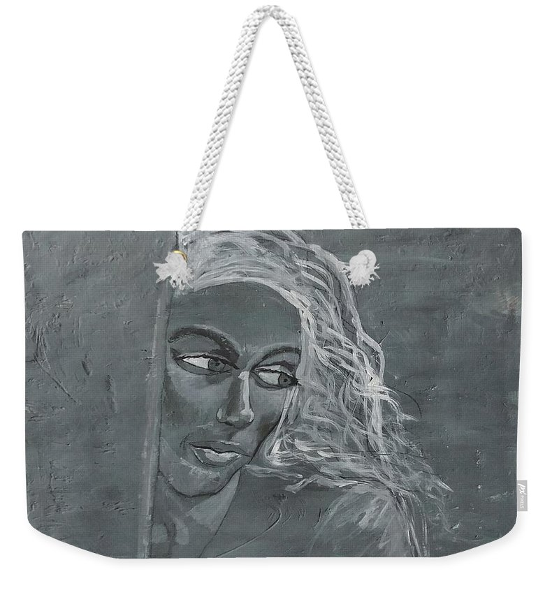 Women Weekender Tote Bag featuring the painting In The Moon Light by J Bauer