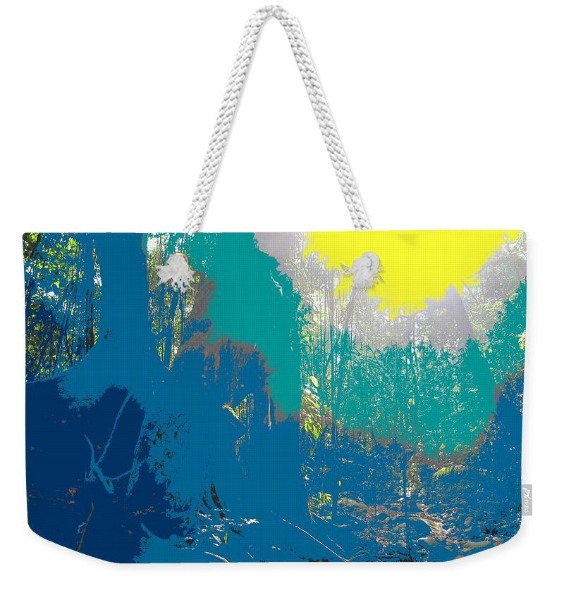 Rainforest Weekender Tote Bag featuring the photograph In The Rainforest by Ian MacDonald