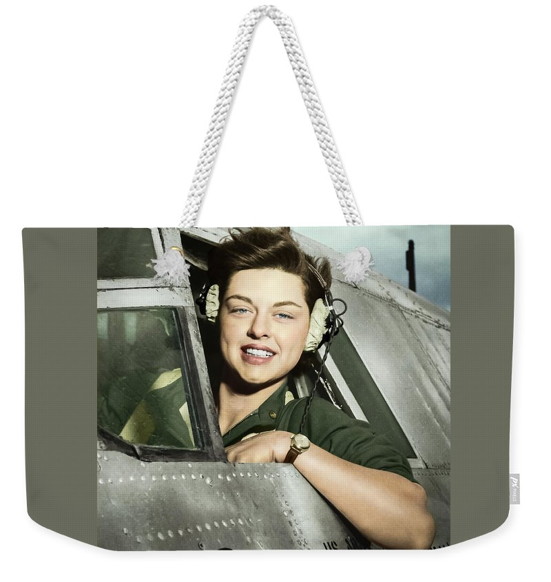 Photomanipulation Weekender Tote Bag featuring the photograph In The Sky by Franchi Torres