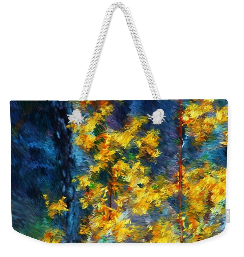 Nature Weekender Tote Bag featuring the photograph In The Woods Again by David Lane