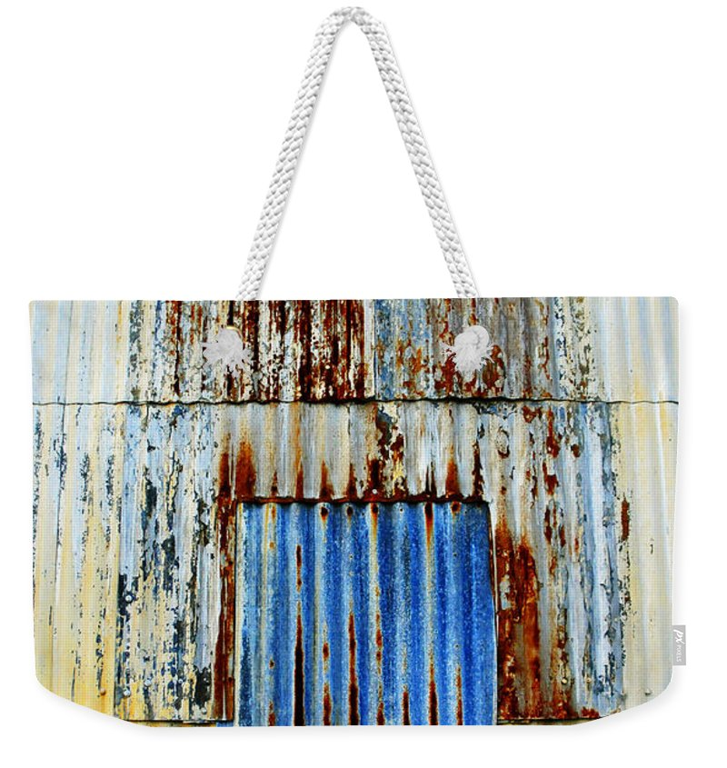 Skip Hunt Weekender Tote Bag featuring the photograph In Through The Out Door by Skip Hunt