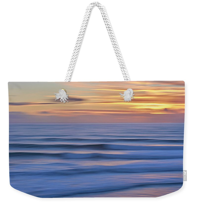 Mark Steffen Weekender Tote Bag featuring the photograph In Trace We Trust by Mark Steffen