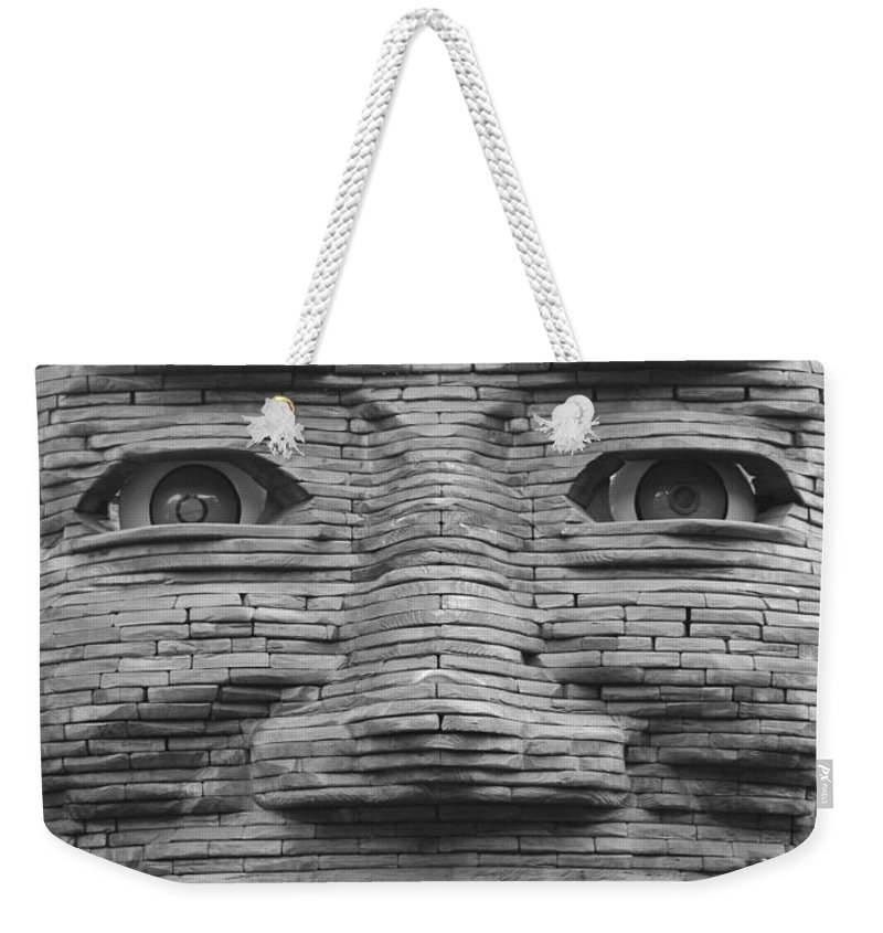 Architecture Weekender Tote Bag featuring the photograph In Your Face by Rob Hans