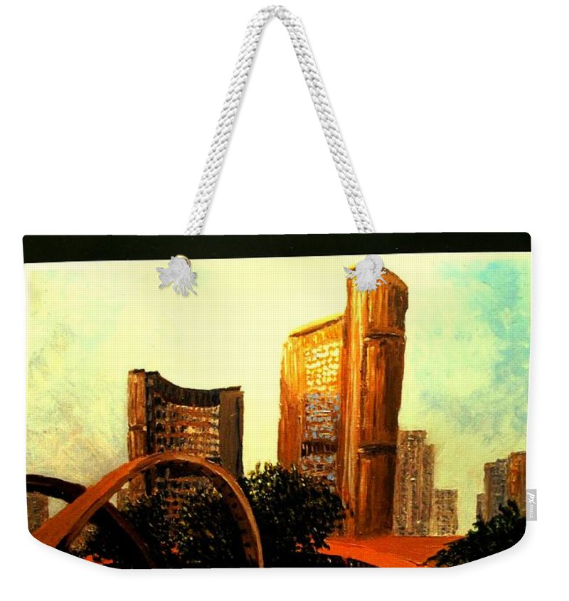 Canada Weekender Tote Bag featuring the photograph Incredible by Ian MacDonald