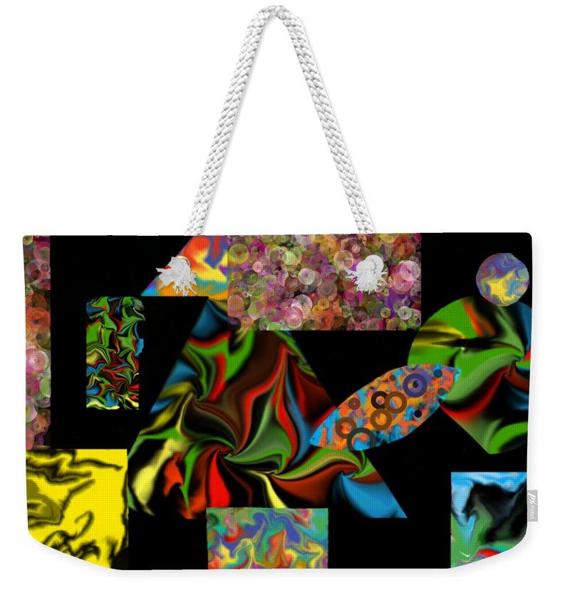 Weekender Tote Bag featuring the digital art Incubus by Steve Walmsley