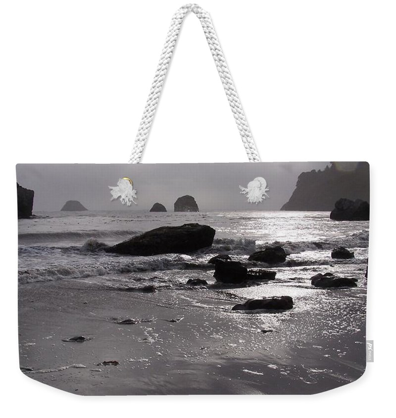 Beach Weekender Tote Bag featuring the photograph Indian Beach by Gale Cochran-Smith