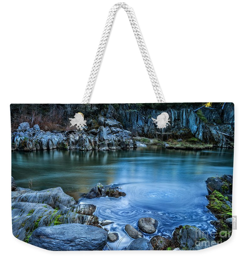 Indian Weekender Tote Bag featuring the photograph Indian Creek by Dianne Phelps