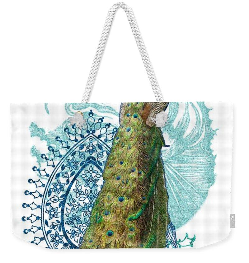 Peacock Weekender Bag