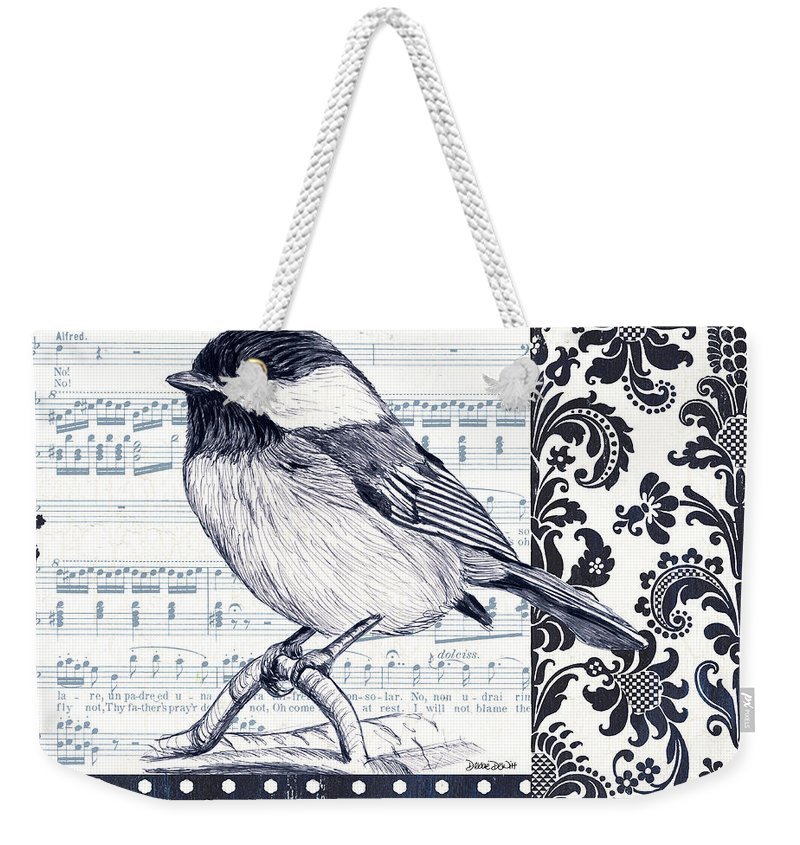 Song Bird Weekender Tote Bags
