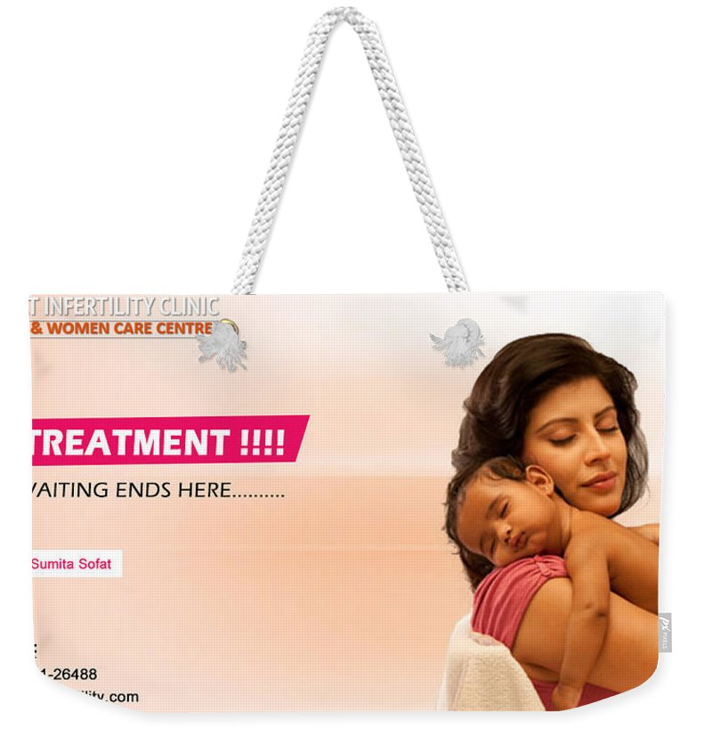 Ivf Weekender Tote Bag featuring the photograph Infertility Treatment From Best Ivf Centre In India by Sumita Sofat