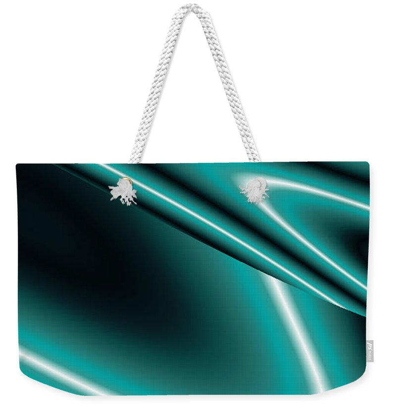 Infinity Art Weekender Tote Bag featuring the painting Infinity Art by Sheila Mcdonald