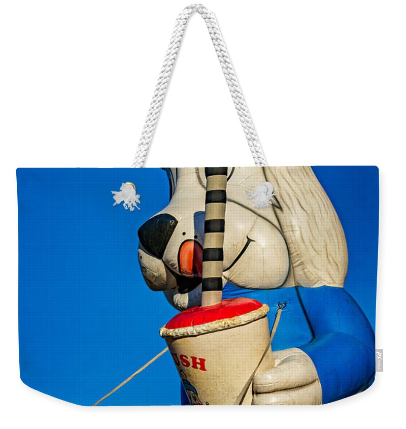 Bolton Weekender Tote Bag featuring the photograph Inflated Temptation 2 by Steve Harrington
