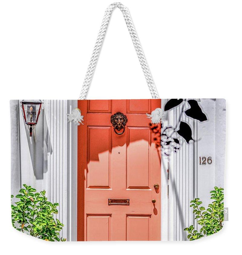Charleston Weekender Tote Bag featuring the photograph Ingress by Yvette Wilson