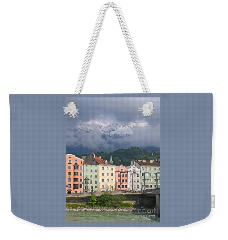 Innsbruck Weekender Tote Bag featuring the photograph Innsbruck by Ann Horn